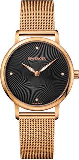 Швейцарские женские часы в коллекции Urban Donnissima Женские часы Wenger 01.1721.102