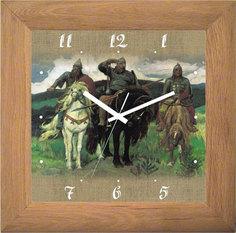 Настенные часы Салют DD-AA28.1-339-TRI-BOGATYRJA