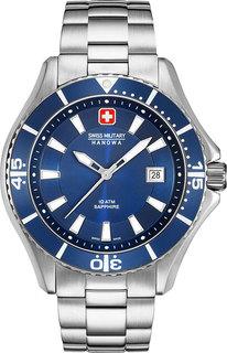 Швейцарские мужские часы в коллекции Aqua Мужские часы Swiss Military Hanowa 06-5296.04.003