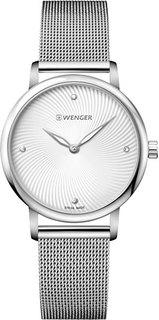 Швейцарские женские часы в коллекции Urban Donnissima Женские часы Wenger 01.1721.107