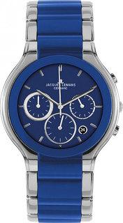 Мужские часы в коллекции High Tech Ceramic Мужские часы Jacques Lemans 1-1580H