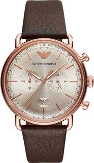 Мужские часы в коллекции Aviator Мужские часы Emporio Armani AR11106