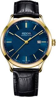 Швейцарские мужские часы в коллекции Quartz Мужские часы Epos 7000.701.22.16.26
