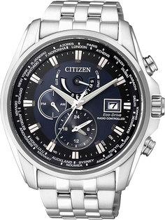 Японские мужские часы в коллекции Radio-Controlled Мужские часы Citizen AT9030-55L