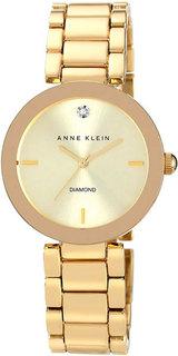 Женские часы в коллекции Diamond Женские часы Anne Klein 1362CHGB