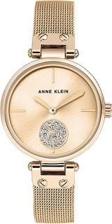 Женские часы в коллекции Crystal Женские часы Anne Klein 3000CHGB