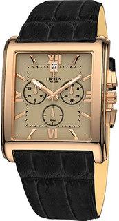 Золотые мужские часы в коллекции Celebrity Мужские часы Ника 1064.0.1.43 Nika