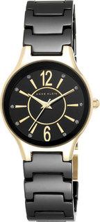 Женские часы в коллекции Ceramics Женские часы Anne Klein 2182BKGB