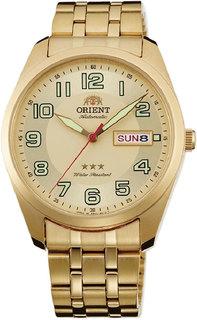 Японские мужские часы в коллекции 3 Stars Crystal 21 Jewels Мужские часы Orient RA-AB0023G1
