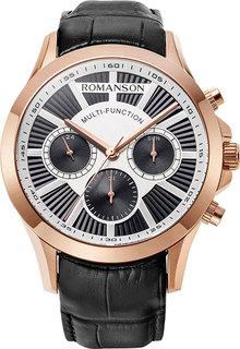 Мужские часы в коллекции Adel Мужские часы Romanson TL8A30FMR(BK)
