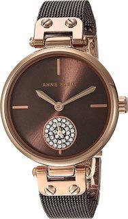 Женские часы в коллекции Crystal Женские часы Anne Klein 3001RGBN