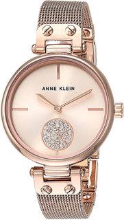 Женские часы в коллекции Crystal Женские часы Anne Klein 3000RGRG