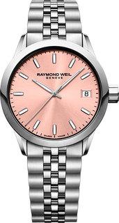 Швейцарские женские часы в коллекции Freelancer Женские часы Raymond Weil 5634-ST-80021