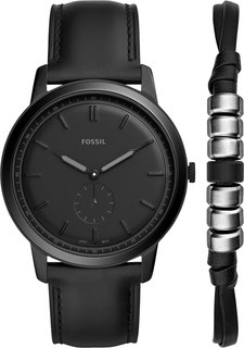 Мужские часы в коллекции The Minimalist Мужские часы Fossil FS5500SET