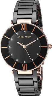 Женские часы в коллекции Ceramics Женские часы Anne Klein 3266BKRG