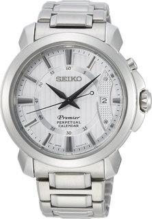 Японские мужские часы в коллекции Premier Мужские часы Seiko SNQ155P1