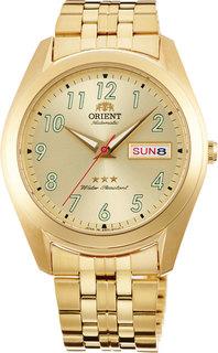 Японские мужские часы в коллекции 3 Stars Crystal 21 Jewels Мужские часы Orient RA-AB0036G1