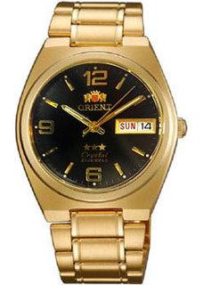 Японские мужские часы в коллекции 3 Stars Crystal 21 Jewels Мужские часы Orient AB04001B