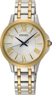 Японские женские часы в коллекции CS Dress Женские часы Seiko SRZ526P1