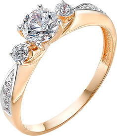Золотые кольца Кольца Ювелирные Традиции K132-2973SV