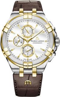 Швейцарские мужские часы в коллекции Aikon Мужские часы Maurice Lacroix AI1018-PVY11-132-1