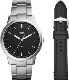 Мужские часы в коллекции The Minimalist 3h Мужские часы Fossil FS5451SET