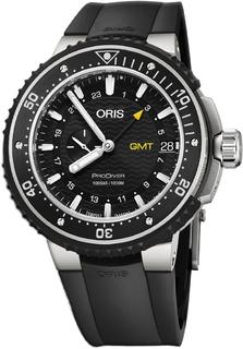 Швейцарские мужские часы в коллекции ProDiver Мужские часы Oris 748-7748-71-54RS
