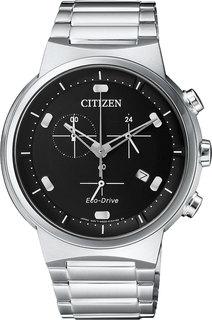 Японские мужские часы в коллекции Eco-Drive Мужские часы Citizen AT2400-81E