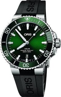 Швейцарские мужские часы в коллекции Aquis Мужские часы Oris 733-7730-41-57RS
