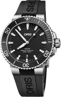 Швейцарские мужские часы в коллекции Aquis Мужские часы Oris 733-7730-41-54RS