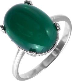 Серебряные кольца Кольца Марказит P11725-hrizopraz-mr
