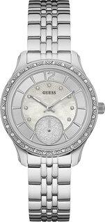 Женские часы в коллекции Dress Steel Женские часы Guess W0931L1