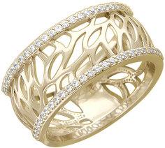 Золотые кольца Кольца Эстет 01K136344