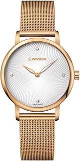 Швейцарские женские часы в коллекции Urban Donnissima Женские часы Wenger 01.1721.114