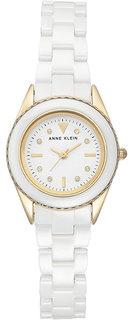 Женские часы в коллекции Ceramics Женские часы Anne Klein 3164WTGB
