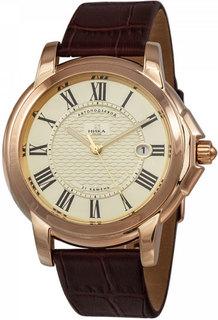 Золотые мужские часы в коллекции Celebrity Мужские часы Ника 1093.0.1.41A Nika
