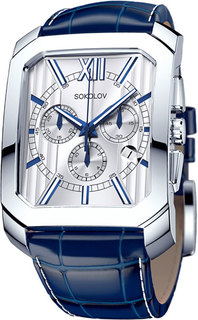 Мужские часы в коллекции Gran Turismo Мужские часы SOKOLOV 144.30.00.000.01.03.3