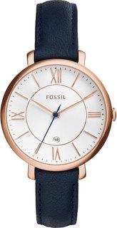 Женские часы в коллекции Jacqueline Женские часы Fossil ES3843