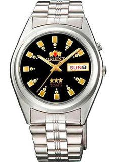 Японские мужские часы в коллекции 3 Stars Crystal 21 Jewels Мужские часы Orient AB04003B