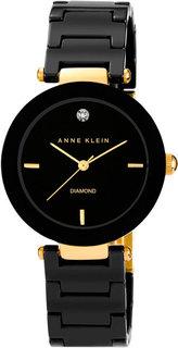 Женские часы в коллекции Diamond Женские часы Anne Klein 1018BKBK