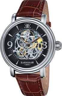 Мужские часы в коллекции Longcase Мужские часы Earnshaw ES-8011-02