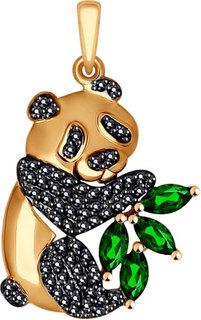 Золотые кулоны, подвески, медальоны Кулоны, подвески, медальоны SOKOLOV 035066_s