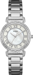 Женские часы в коллекции Dress Steel Женские часы Guess W0831L1