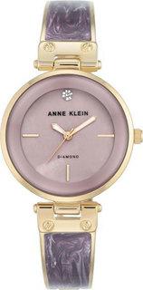 Женские часы в коллекции Diamond Женские часы Anne Klein 2512LVGB