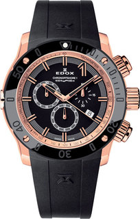 Швейцарские мужские часы в коллекции CO-1 Мужские часы Edox 10221-37RNIR