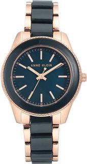 Женские часы в коллекции Plastic Женские часы Anne Klein 3214NVRG