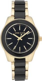 Женские часы в коллекции Plastic Женские часы Anne Klein 3214BKGB