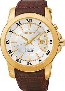 Японские мужские часы в коллекции Premier Мужские часы Seiko SNQ144J1