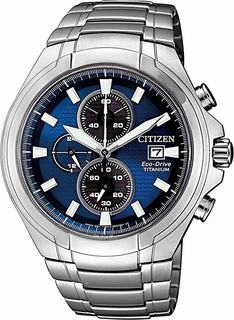 Японские мужские часы в коллекции Super Titanium Мужские часы Citizen CA0700-86L
