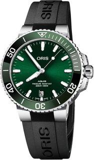 Швейцарские мужские часы в коллекции Aquis Мужские часы Oris 733-7732-41-57RS